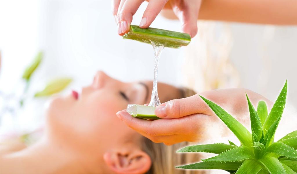 Tratamiento de sávila para un masaje