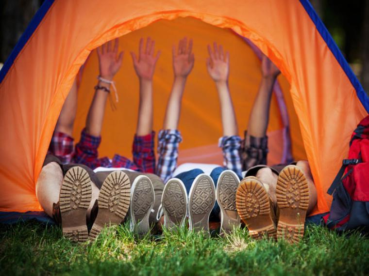 campamento para niños