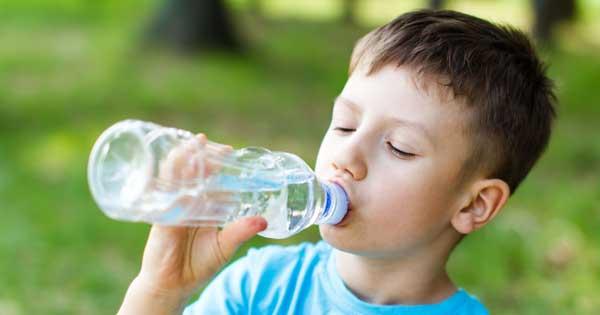 los golpes de calor en niños
