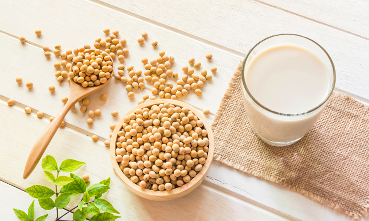 Beneficios de la leche de soya
