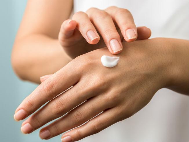 piel de las manos secas