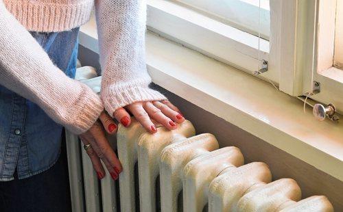 calefacción alta y sus problemas