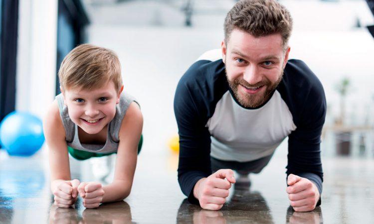 mantener a un niño activo