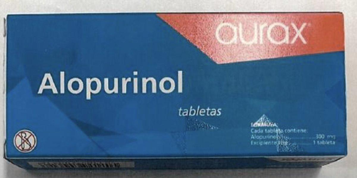 alopurinol aurax y la leucemia